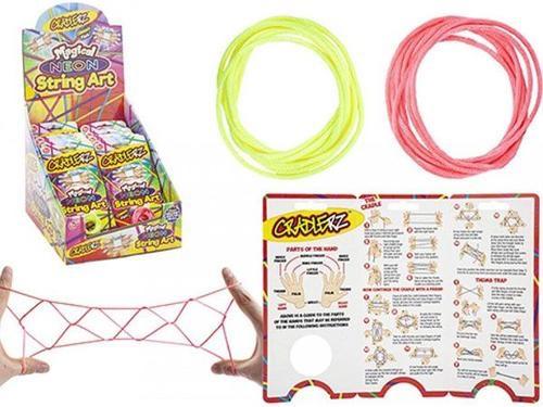 Cradlerz neon string art cats cradle string game