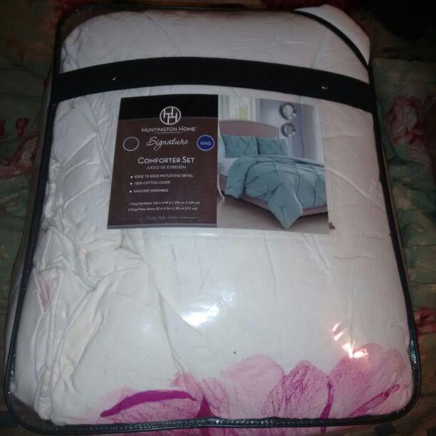 Huntington Home Signature 3-piece King Comforter Set