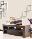 Modern TV Cabinet White 130cm Stand Unit HIGH GLOSS