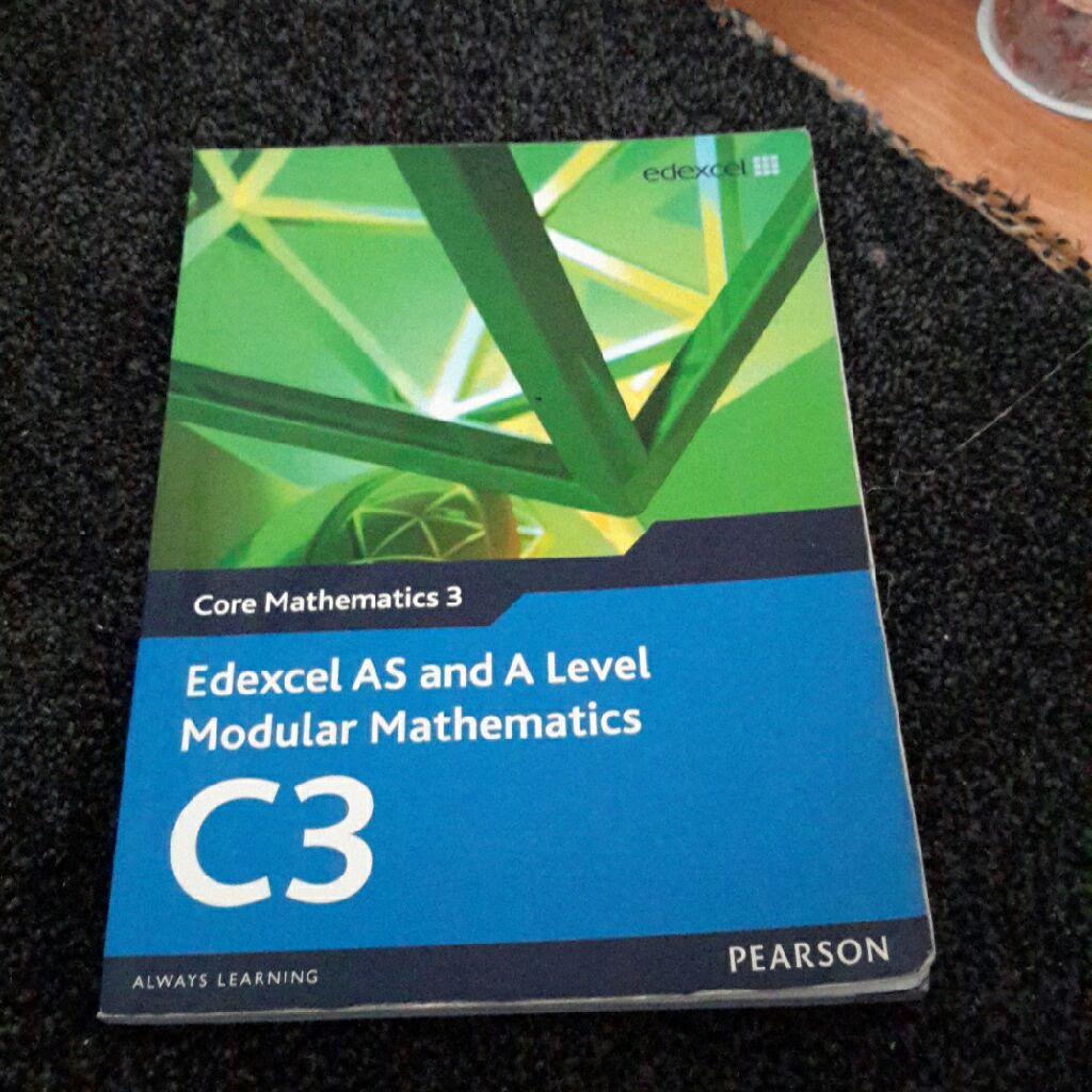 Edexcel C3 A Level Maths Book