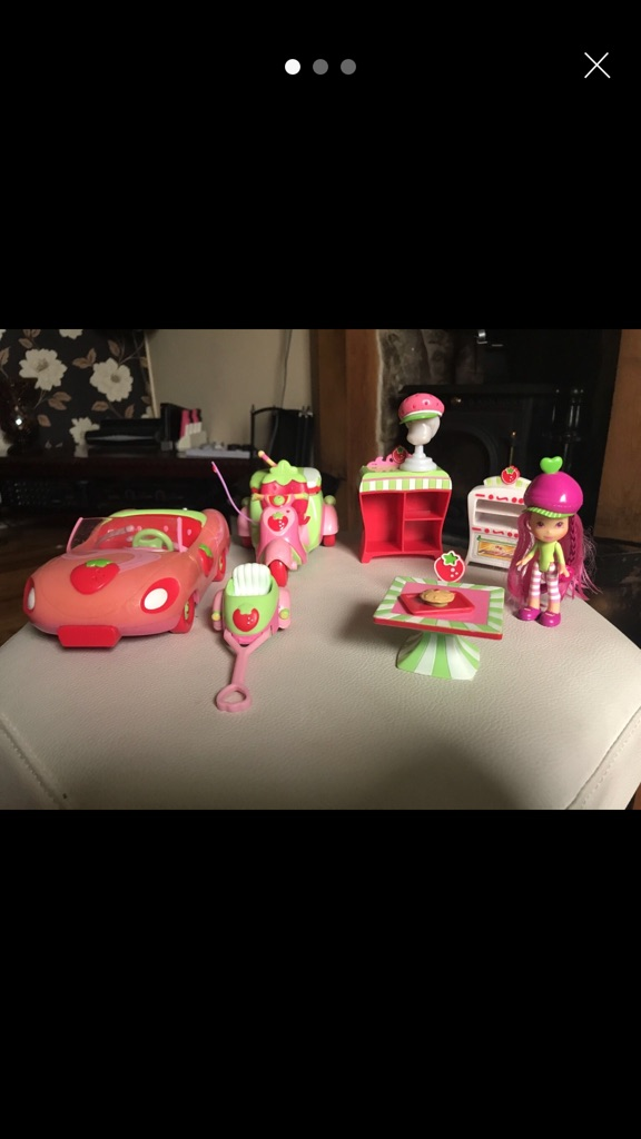 Strawberry shortcake bundle