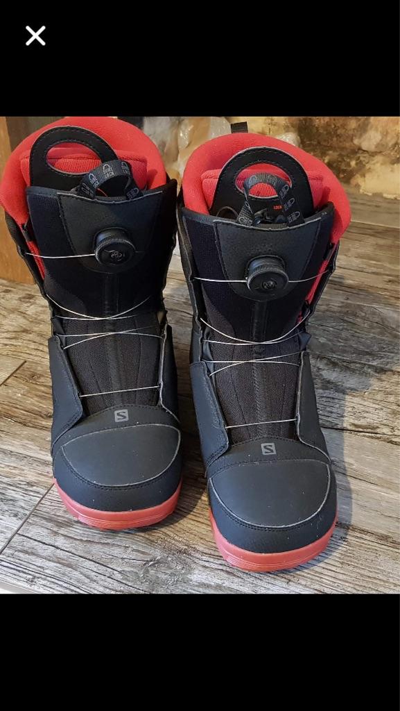 Salamon Brand New Men's Snowboard Boots