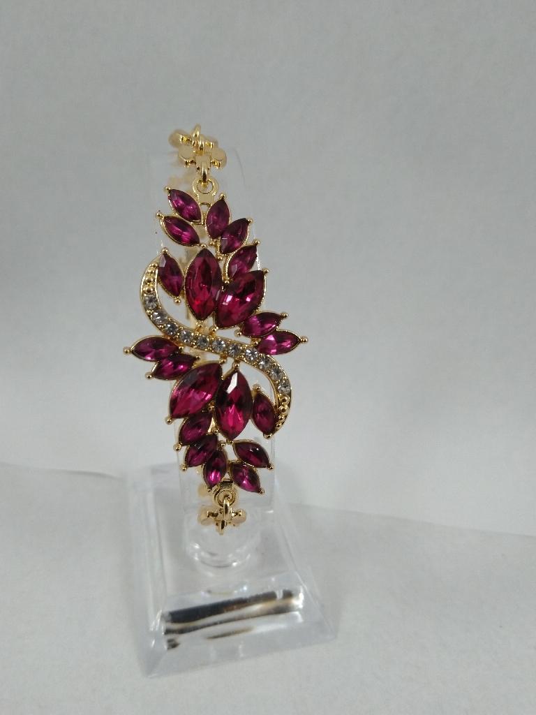 Beautiful wine bracelet colour