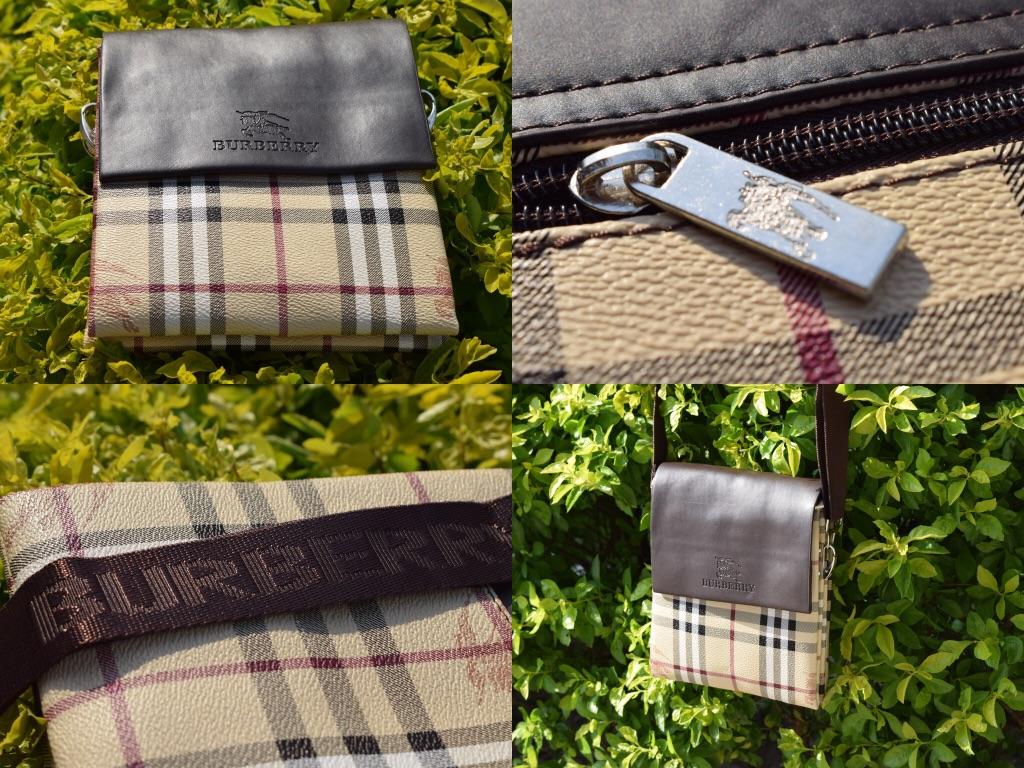 Burberry Vintage Messenger Bag, Flight Bag , Crossbody Style Brand New.
