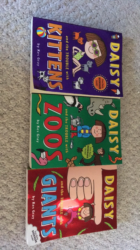 3 DAISY childrens books by Kes Gray