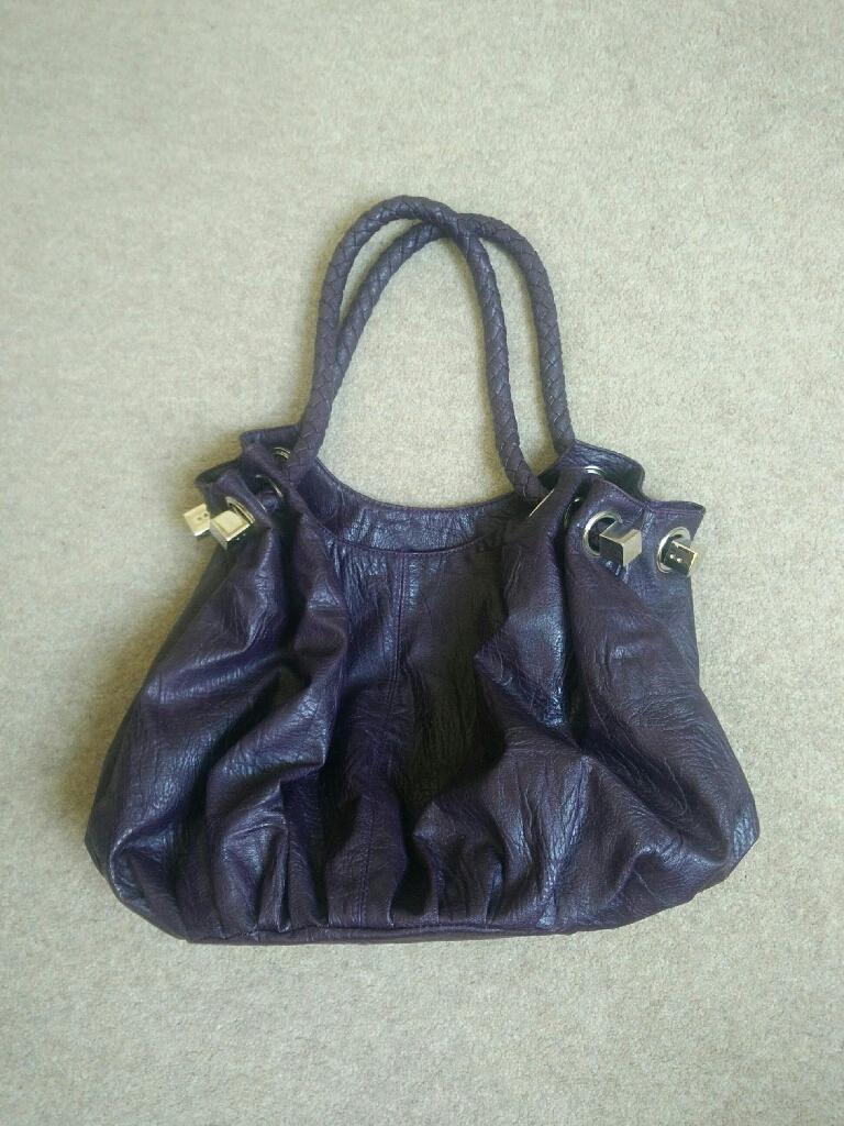 Casa di borse dark purple bag