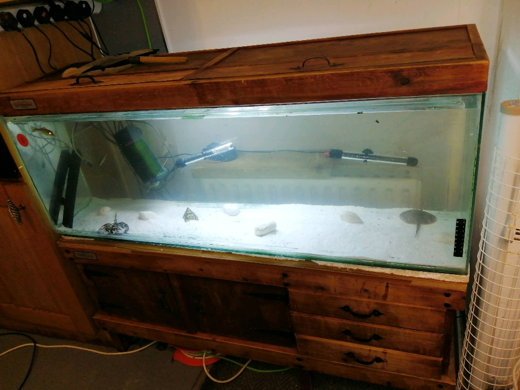 4ft fish tank wooden frame