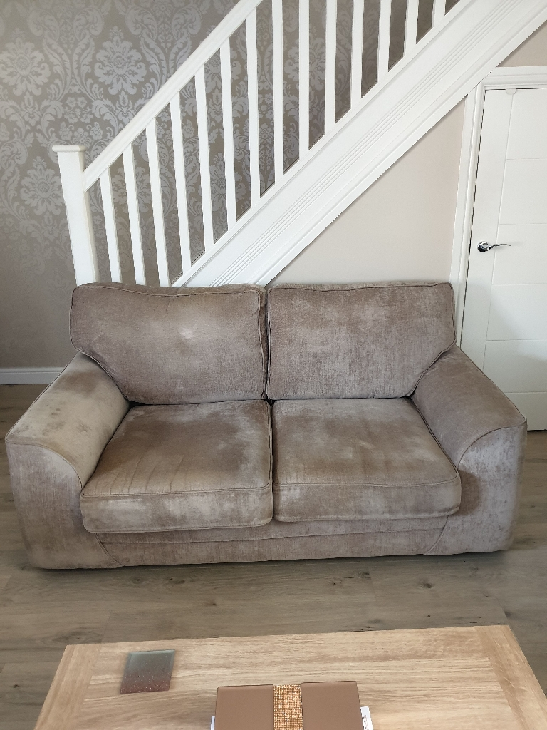 SCS 3 seater and 2 seater sofas
