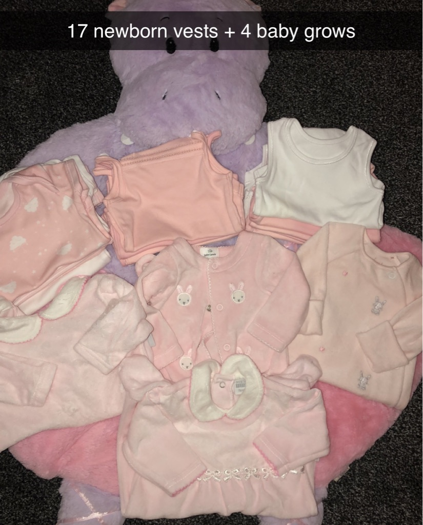 Newborn and Up to 1month baby bundle