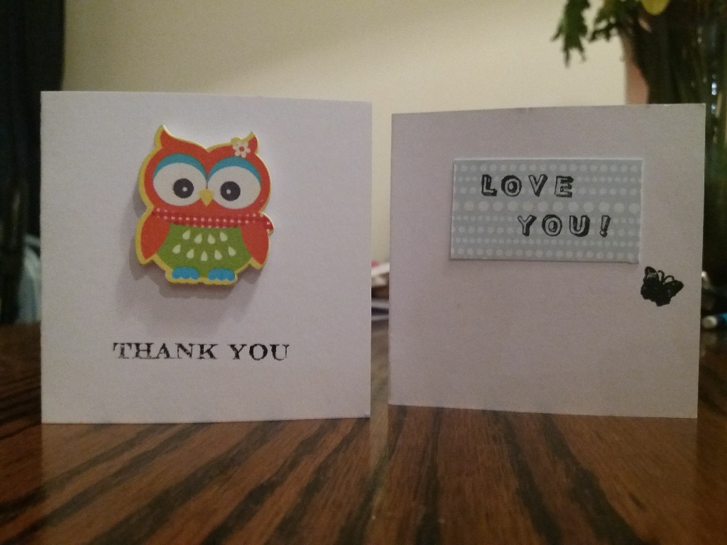 Hand made greetings cards for all occasions