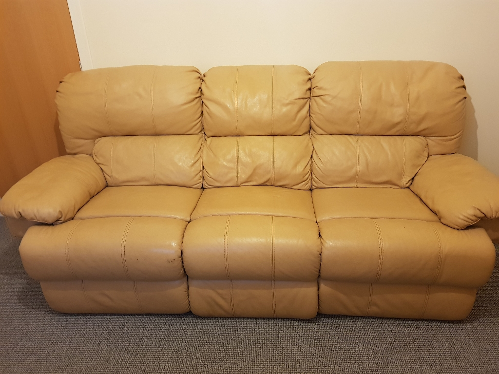 3 + 2 Leather Recliners