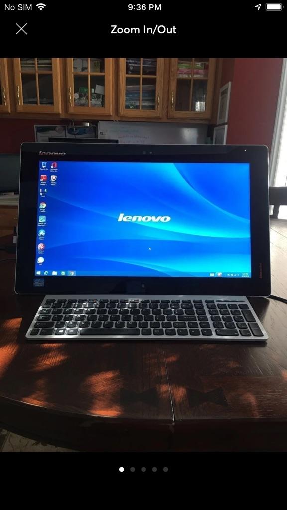 Lenovo Touchscreen Desktop