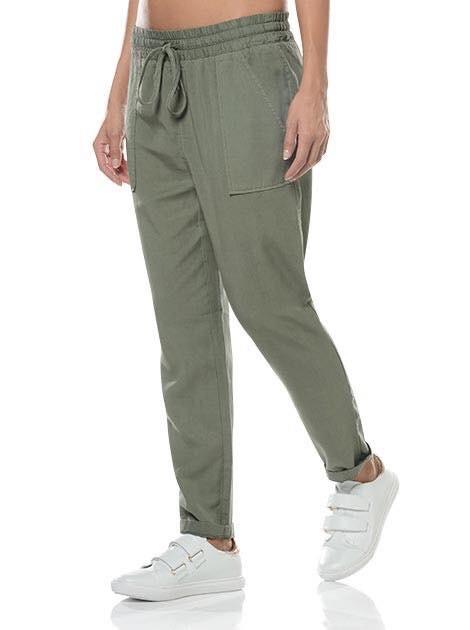 Mark & Spencer New Khaki Trousers 10 Size