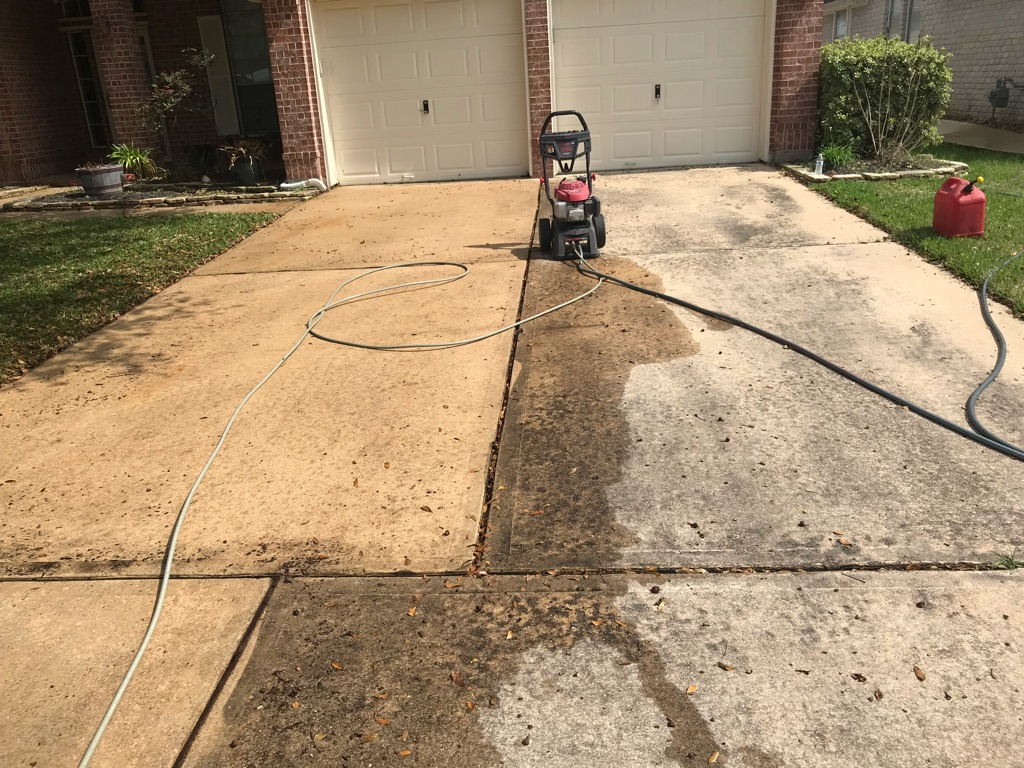 Juanito's pressure washing services