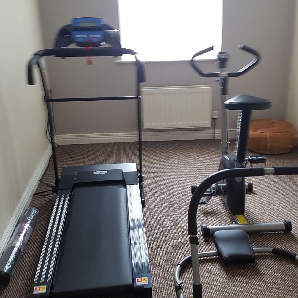 Excersize bike and treadmill