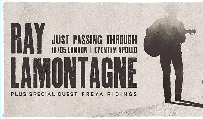 2 x below face value tickets Ray Lamontagne