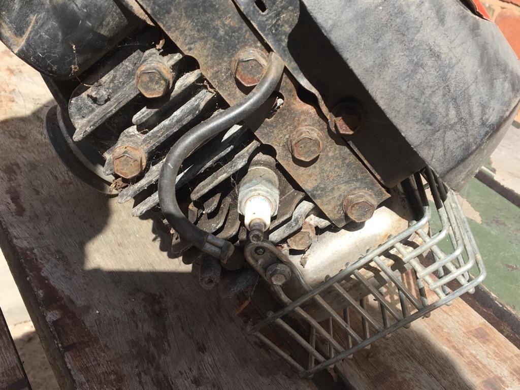 Rotavator engine