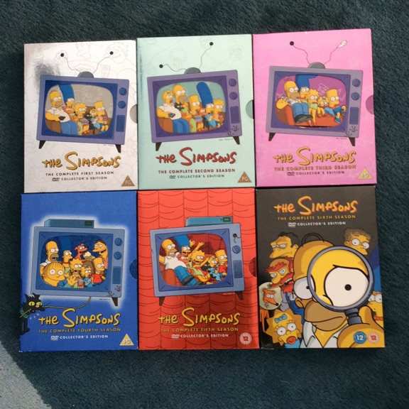 The Simpsons DVD Boxsets Series 1 - 6