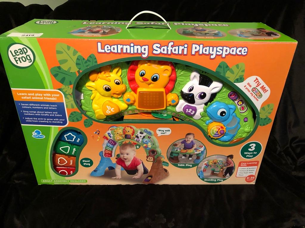 Learning safari Playspace