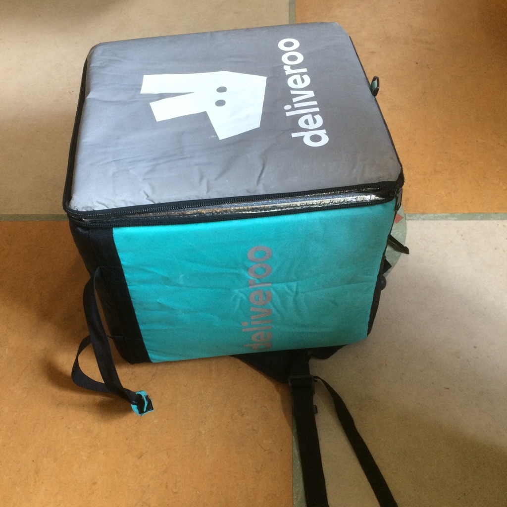 Deliveroo thermal box