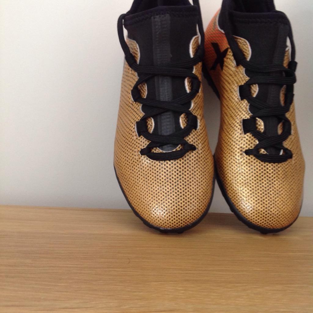 Brand New Adidas Tango X Astros kids size 13