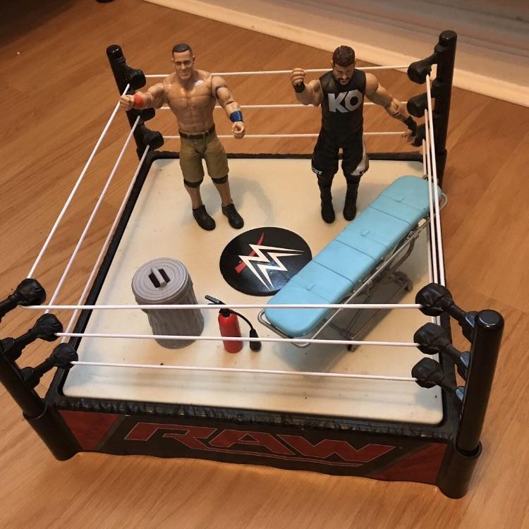 WWE set