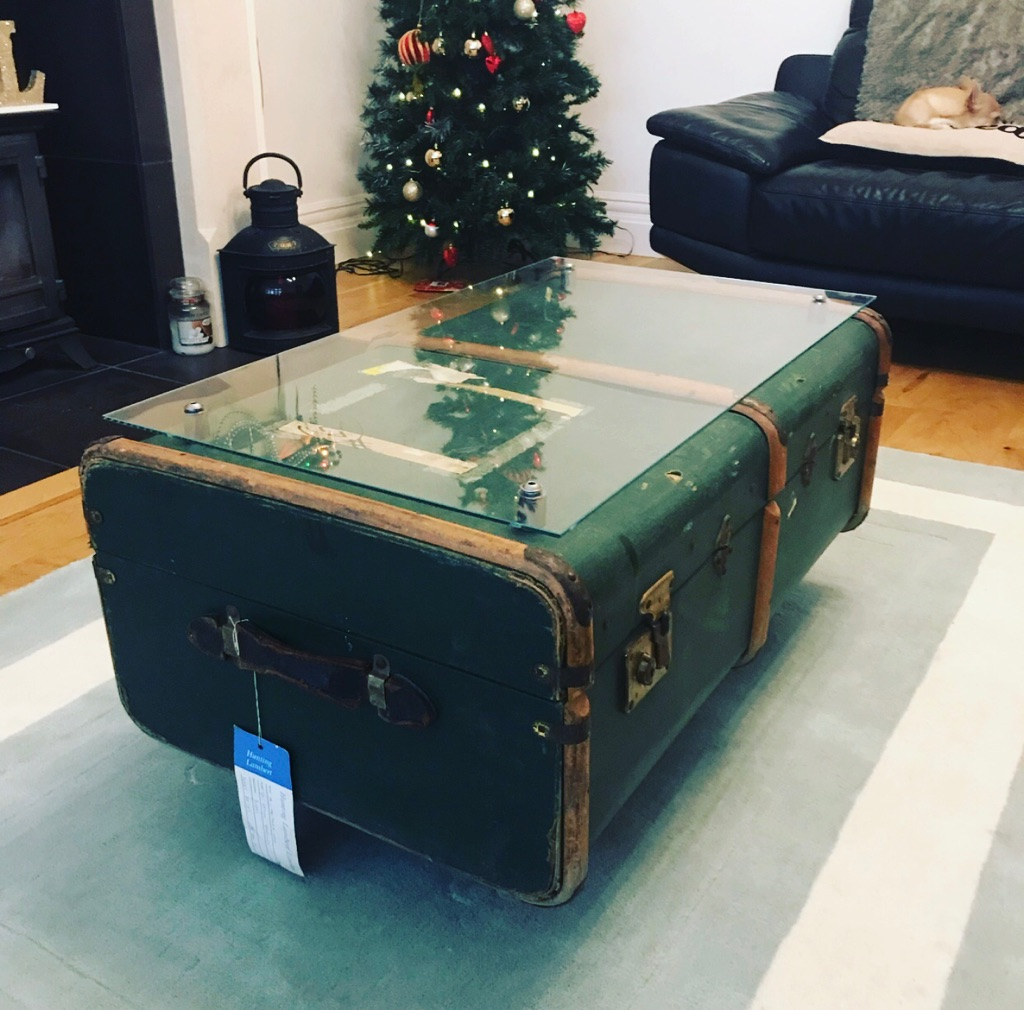 Bespoke Vintage Trunk coffee table