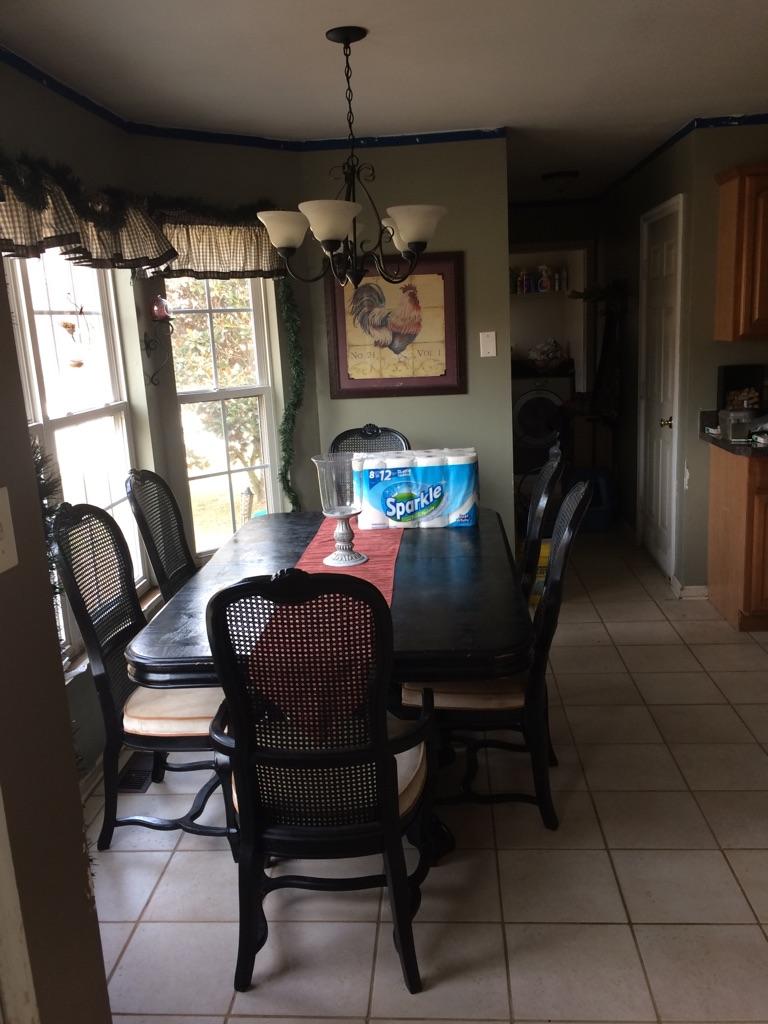 Dining room kitchen set