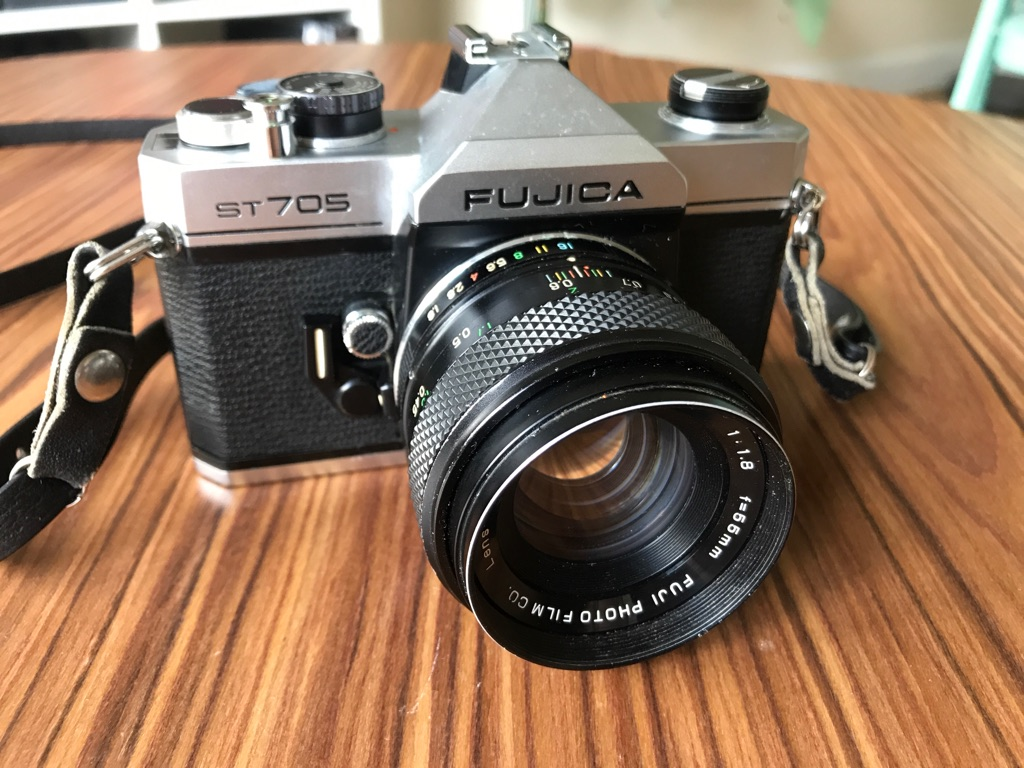 Fujica ST705 Vintage Film SLR 35mm Camera