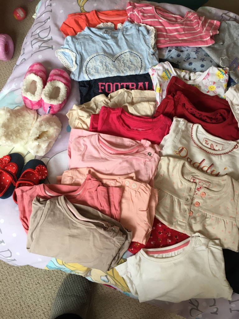 Baby girls clothes bundle in 3-6 months
