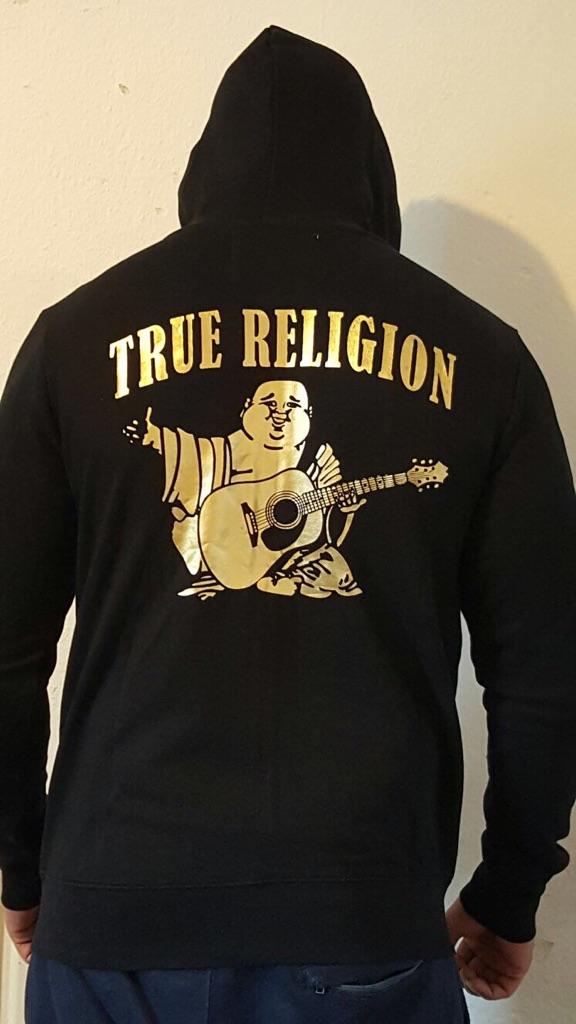 Brand new authentic men's True Religion jacket