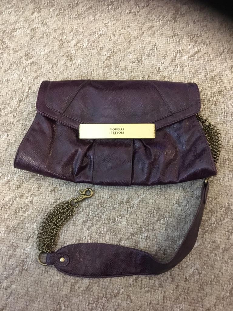 Florelli purple handbag