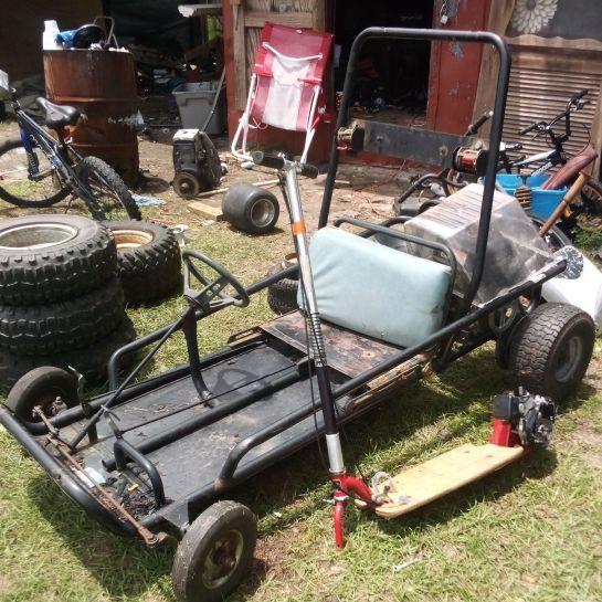Murray explorer go kart with 212 engine