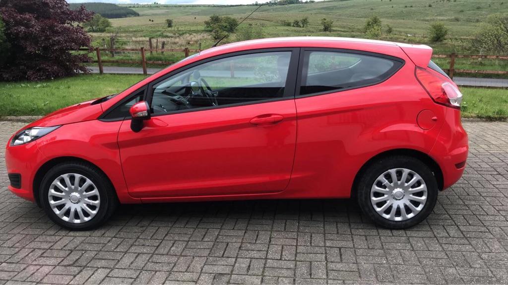 2015 Ford Fiesta love mileage - £5500 ONO