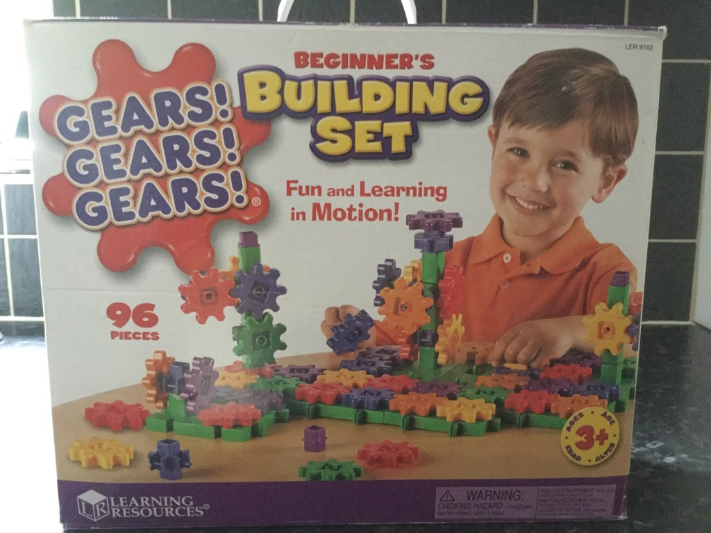 Gears building set