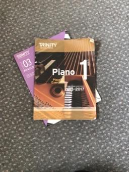 Piano Grades 1&3 Books