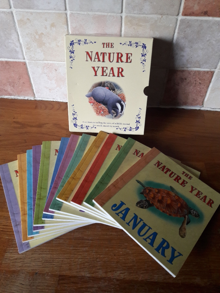 The Nature Year 12 book boxset