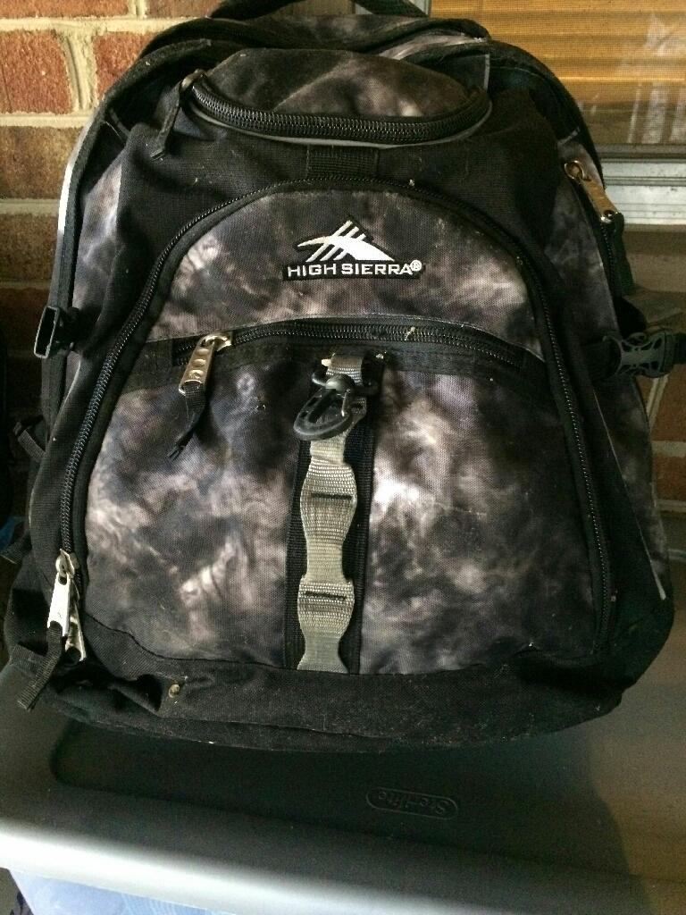 Waterproof computer backpack