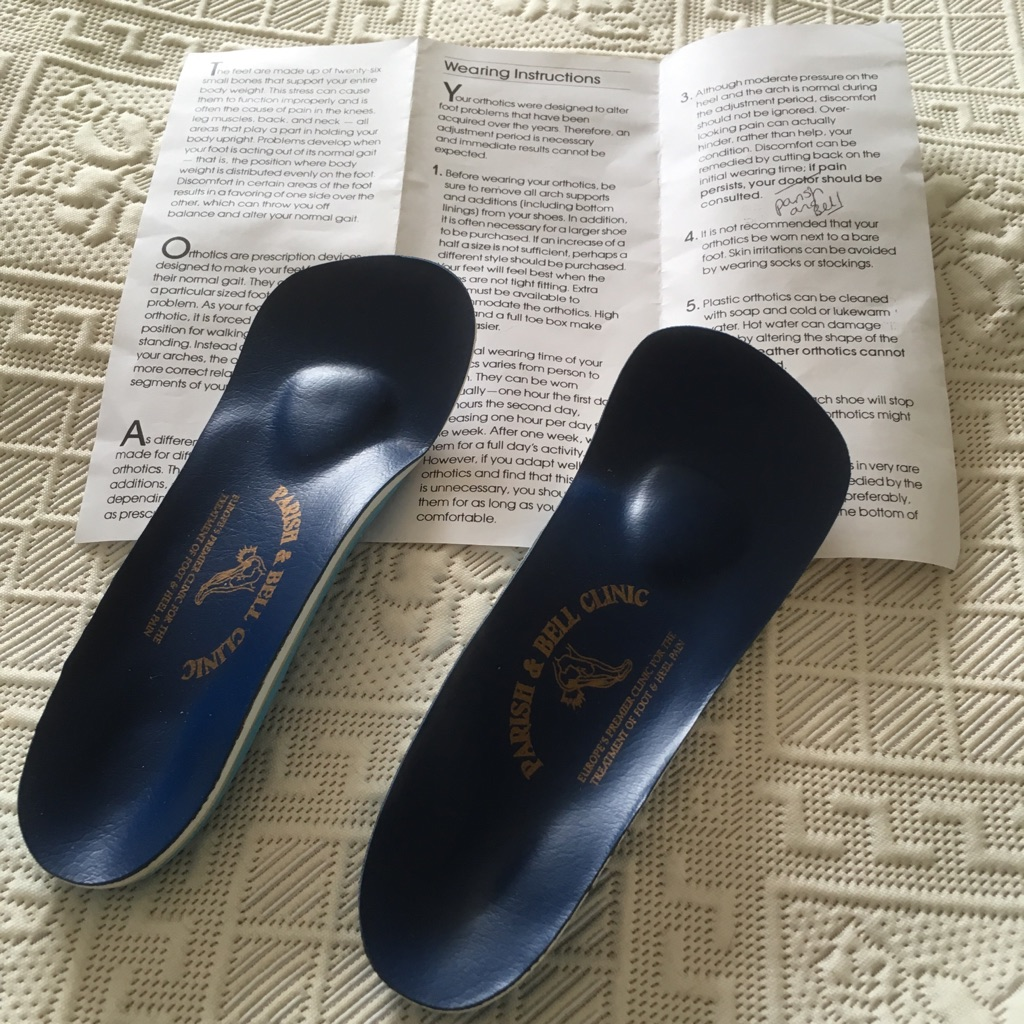 SHOE ORTHOTICS / INSOLES