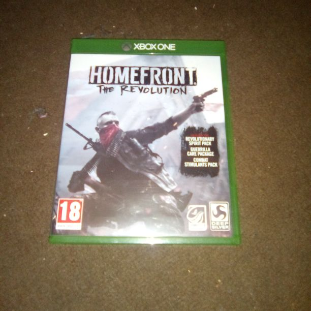 Xbox one home front the revolution