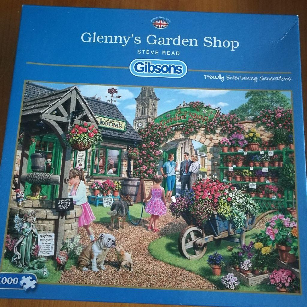 Jigsaw Glen's Garden Shop
