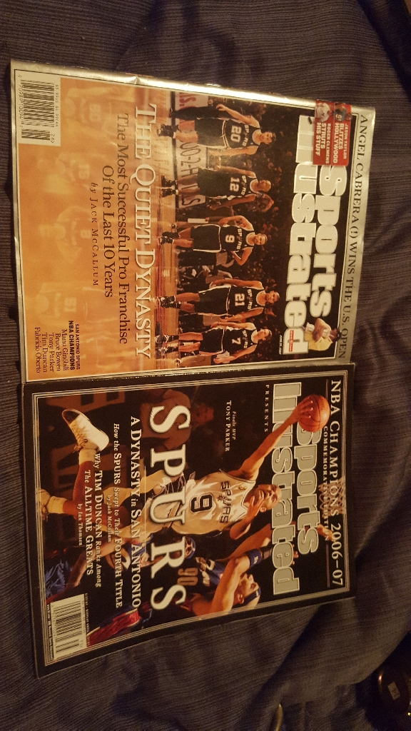 Spurs collectible magazines