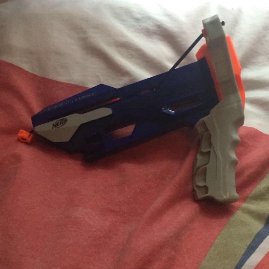 Nerf gun slingshot