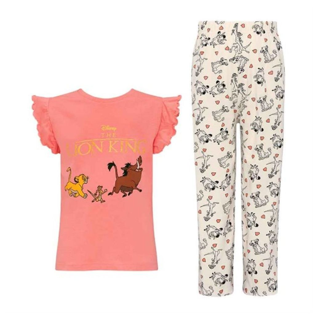 disney lion king childrens pjs