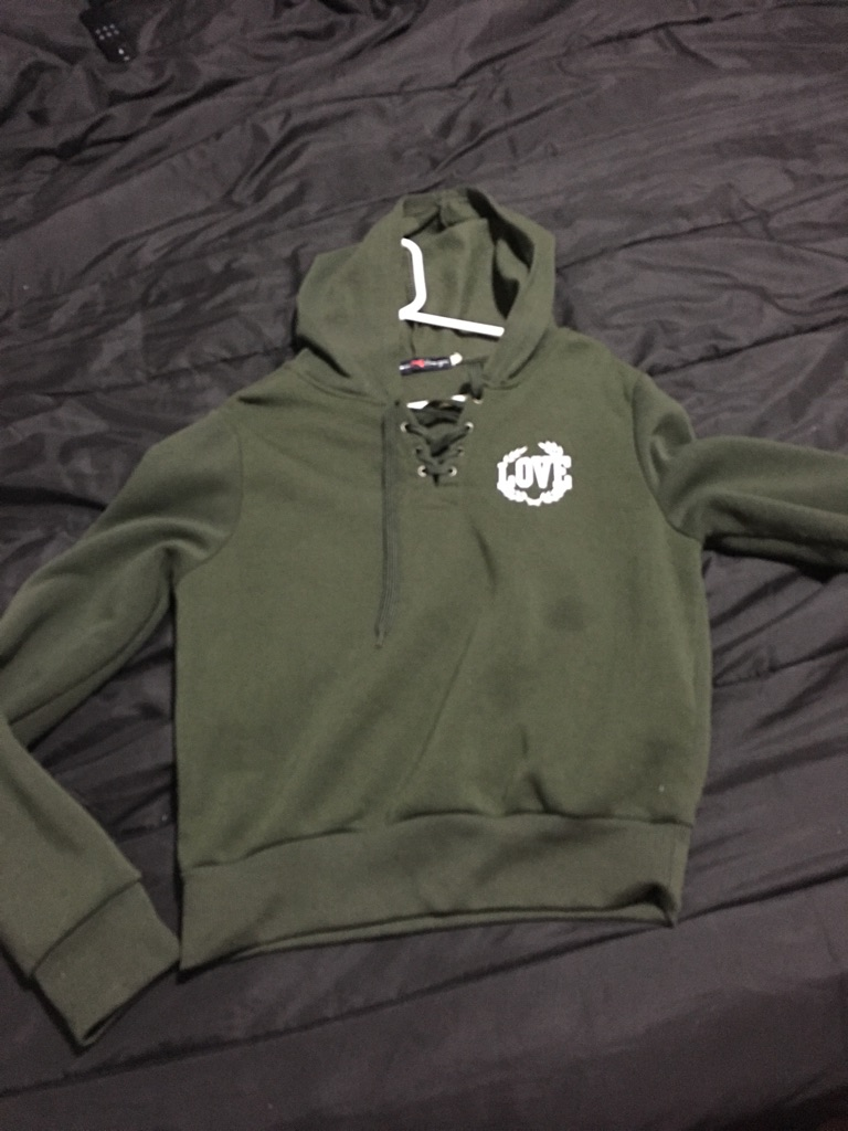 Olive Green Love Jacket