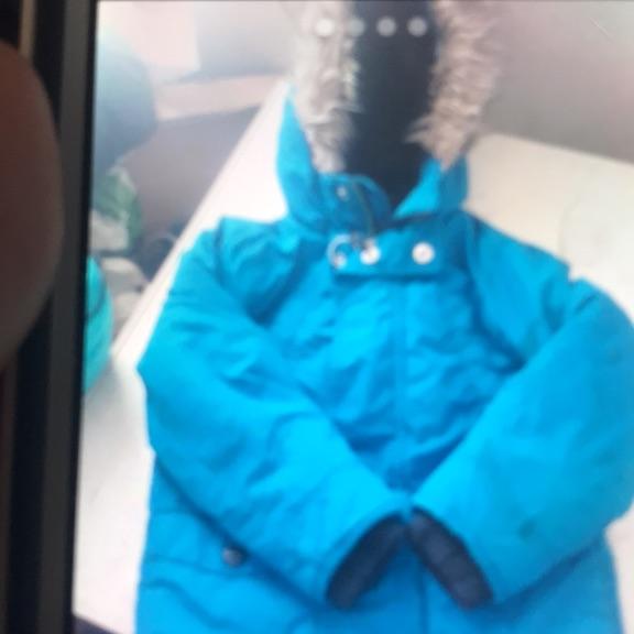 Fab condition boys coat blue