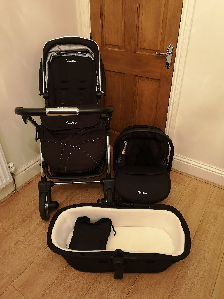 Silver Cross Wayfarer full travel system - Black