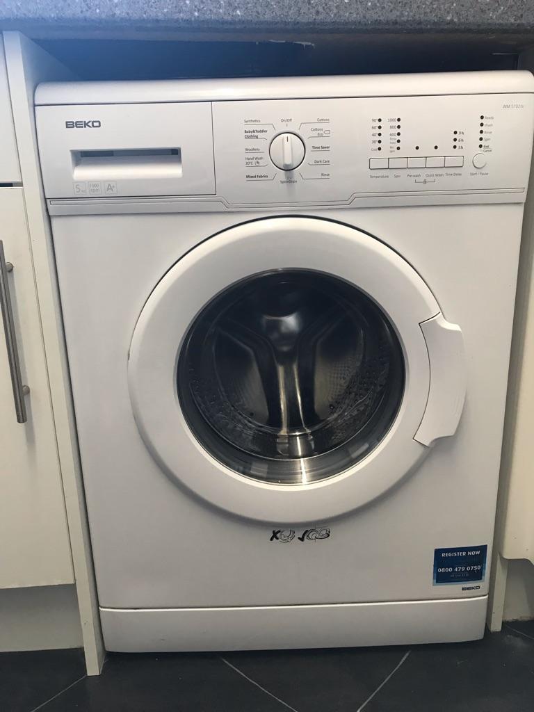 Beko WM5102W washing machine
