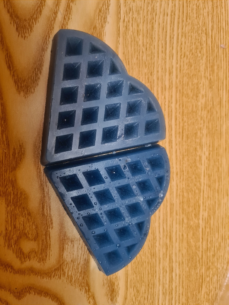 Candy floss waffle bar