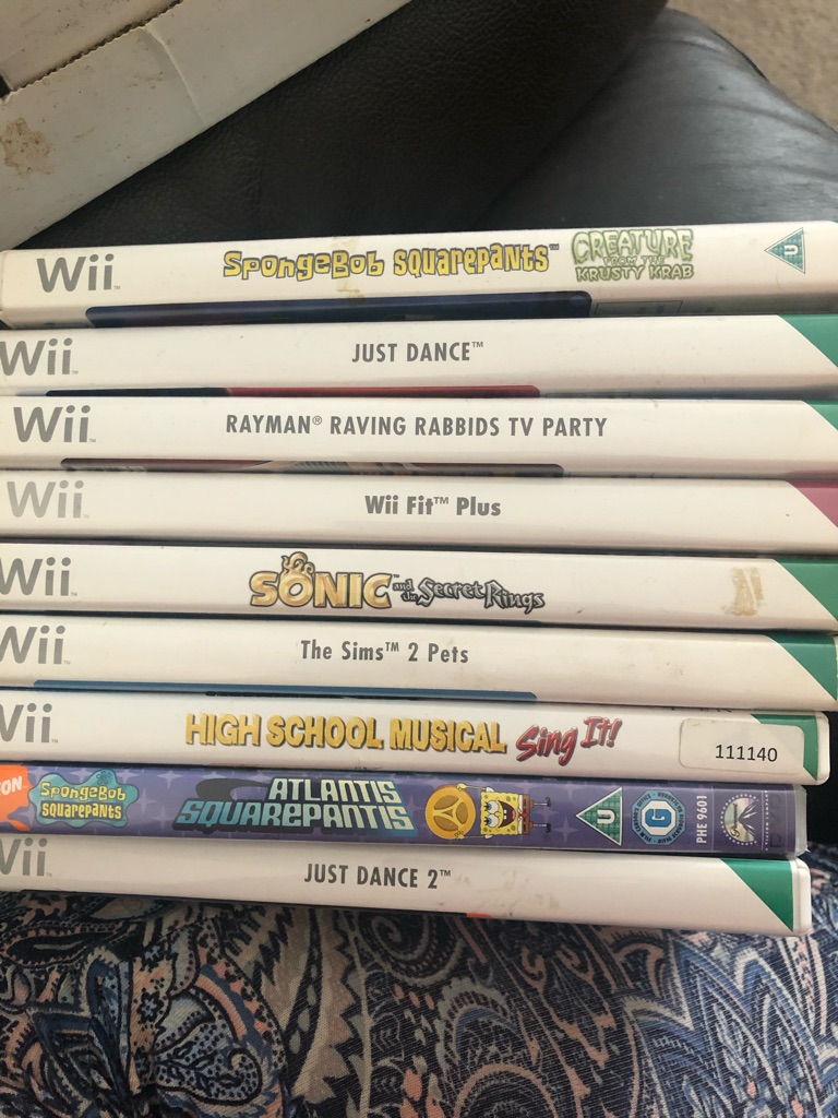 Nintendo wii and extras